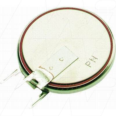 3V Button / Coin Lithium Specialised Cell PCB Mount l 285mAh, Renata, CR2430RV