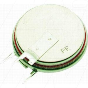 3V 560mAh Button / Coin CR2450NRVLithium Specialised Cell PCB Mount, Renata