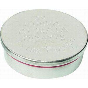 3V Button / Coin Lithium Manganese Button / Coin Cell 950mAh, Renata, CR2477N(R)