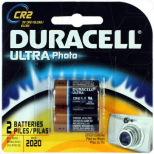 3V Lithium Photo Battery replaces CR2, DLCR2, EL1CR2, ELCR2T, KCR2, Duracell, CR2B2