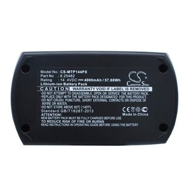 Metabo BSZ 14.4 Power Tool Battery, 4000mAh, Li-ion, MTP144PX