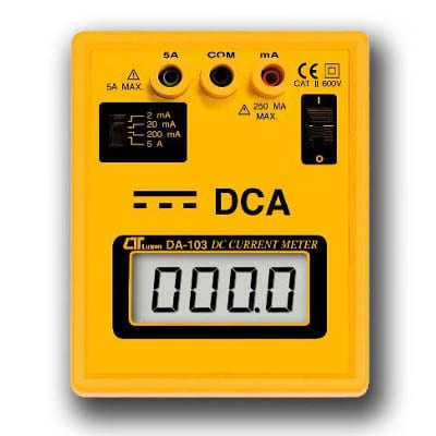 Lutron DC Current Meter, DA103