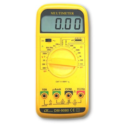 Lutron Multimeter - General + Rs232, DM9080