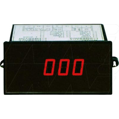 Lutron PANEL METER(4-20 mA), 3 1/2 digits, DR99420