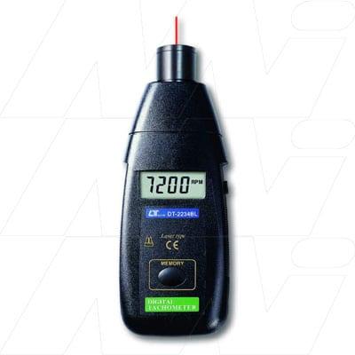 Lutron Laser Photo Tachometer, DT2234BL