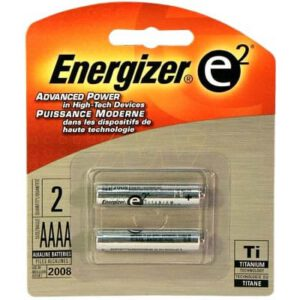 1.5V AAAA Alkaline Consumer Cylindrical Cell, Energizer, E96-BP2