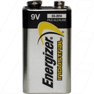 9V Alkaline Industrial Cell, 26.5mAh, Energizer, EN22