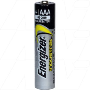 1.5V AAA Alkaline Industrial Cylindrical Cell Cell, 10.5mAh, Energizer, EN92