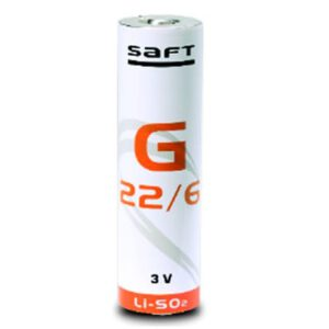 3V DD Lithium Sulfur Dioxide, Saft, G22/6