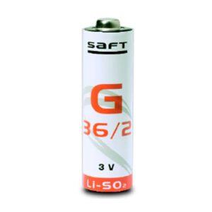 3V Long A Lithium Sulfur Dioxide, Saft, G36/2