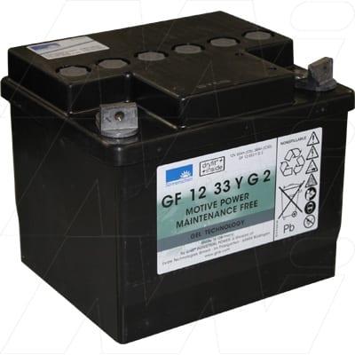 12V 38Ah Sonnenschein GF-Y Range (dryfit A500 cyclic) SLA battery, GF12033YG2
