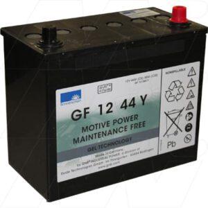 12V 50Ah Sonnenschein GF-Y Range (dryfit A500 cyclic) SLA battery, GF12044Y