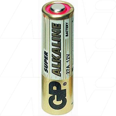 12V Alkaline Specialised High Voltage Series Cell 18mAh, GP, GP27A-BP1