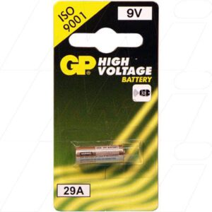 9V Alkaline Specialised High Voltage Series Cell 18mAh, GP, GP29A-BP1