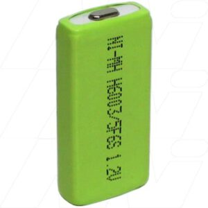 1.2V 3/5F6S Nickel Metral Hydride - NIMH Prismatic Cell, 600mAh, Mst, H600-3/5F6S