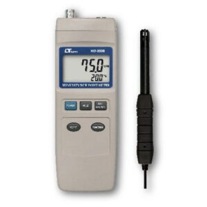Lutron Humidity & Dew Point + Type K Thermometer, Rs232, HD3008