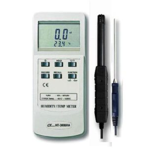 Lutron Humidity Meter Type K Thermometer, HT3006HA