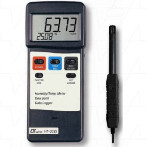 Lutron Humidity Meter With Temperature, Dew Point & RS232 For Datalogging, HT3015