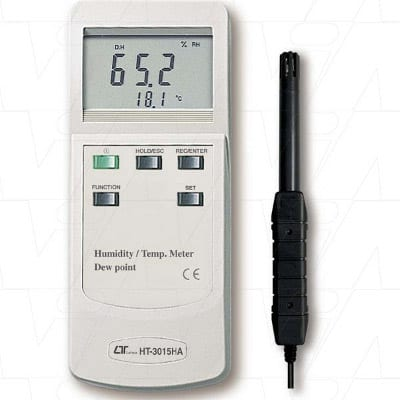 Lutron Humidity Meter With Temperature, Dew Point., HT3015HA