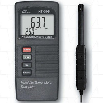Lutron Pocket Humidity Meter With Temperature & Dew Point, HT305