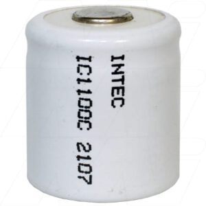 1.2V 3/5C Nickel Cadmium - NiCd Industrial Standard Cylindrical Cell, 1100mAh, Intec, IC1100C