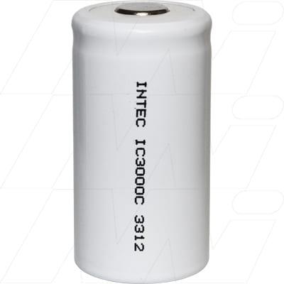 1.2V C Nickel Cadmium - NiCd Industrial Standard Cylindrical Cell, 3000mAh, Intec, IC3000C