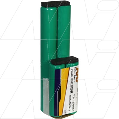 Danoz Direct Swivel Sweeper Vacuum Cleaner Battery 7.2V 1.6Ah NIMH IP-DANOZ