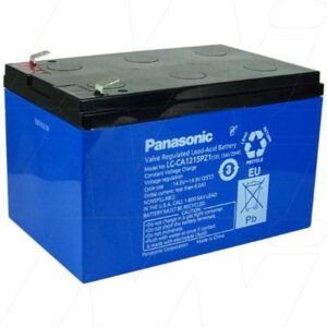 12V SLA Battery , 15Ah, Panasonic, LC-CA1215PZ1