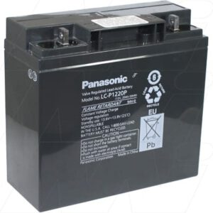 12V 2000mAh SLA Panasonic UPS LC-P1220P Battery