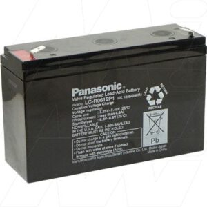 SLA Stand By - UPS Battery for Topaz Back-up Power Systems 6V, 12000mAh, SLA, LC-R0612P1