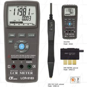 Lutron LCR Meter, General Purpose, LCR9183