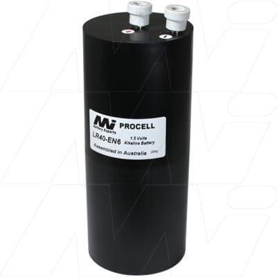 1.5V Lantern Bottle Alkaline Specialist Lantern Bottle Cell, 48Ah, Mst, LR40-EN6