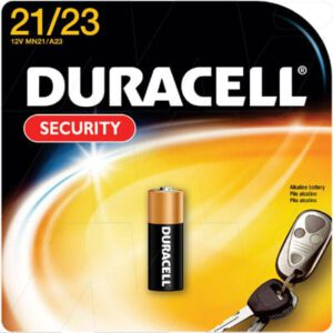 12V Alkaline Specialist Cylindrical Cell Cell, Duracell, MN21B