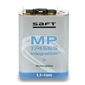 3.7V MP174565 Lithium Ion Battery 4.8Ah, Saft