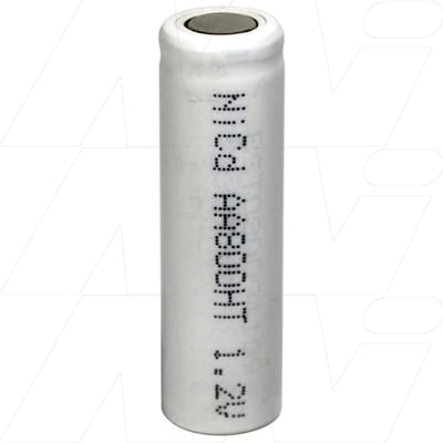 1.2V AA Nickel Cadmium - NiCd Industrial High Temperature cylindrical cell, 800mAh, Mst, NC-AA800HT