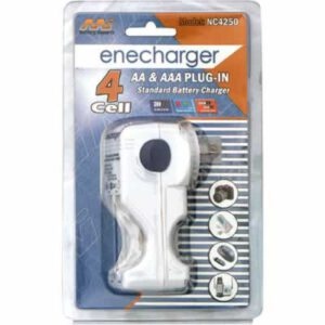 NiCd/NiMH Enecharger Charger for 2 or 4 AA or AAA NiCd/NiMH batteries, NC2450