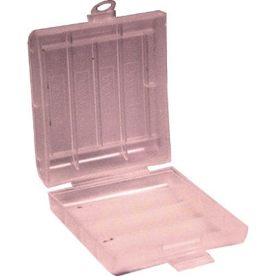 4 x AA/AAA plastic storage container