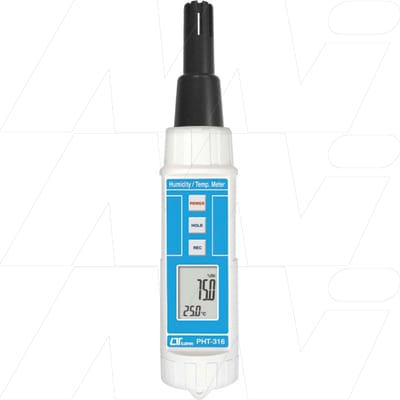 Lutron Humidity/Temperature Meter, PHT316