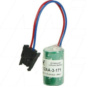 3V 1/2AA Specialised Lithium Battery 950mAh, PLC-1/2AA-3-171