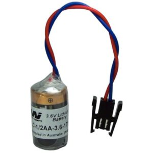 3.6V 1/2AA Specialised Lithium Battery 1200mAh, PLC-1/2AA-3.6-171