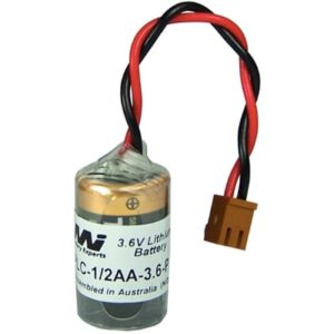 3.6V 1/2AA Specialised Lithium Battery 1200mAh, PLC-1/2AA-3.6-P