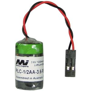 3.6V 1/2AA Specialised Lithium Battery 1200mAh, PLC-1/2AA-3.6-RE02