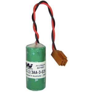 3V 2/3AA Specialised Lithium Battery 1350mAh, PLC-2/3AA-3-029