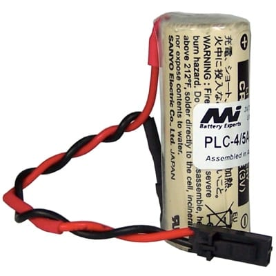 3V 4/5A Specialised Lithium Battery 2500mAh, PLC-4/5A-3-023B