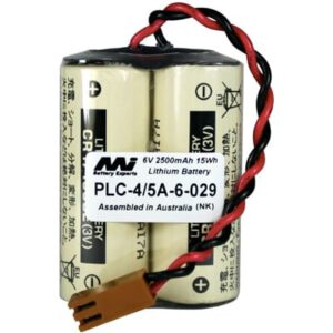6V Specialised Lithium Battery 2500mAh, PLC-4/5A-6-029