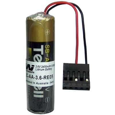 3.6V AA Specialised Lithium Battery 2400mAh, PLC-AA-3.6-RE05