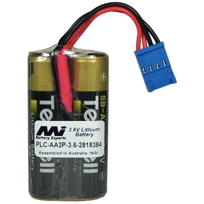 3.6V AA Specialised Lithium Battery 4800mAh, PLC-AA2P-3.6-2818384