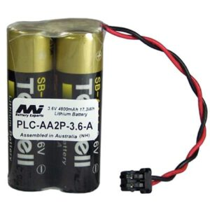 3.6V AA Specialised Lithium Battery 4800mAh, PLC-AA2P-3.6-A
