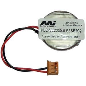 3V 50mAh Coin PLC-VL2330-ILS3SS2C2 Specialised Lithium Battery, Mst