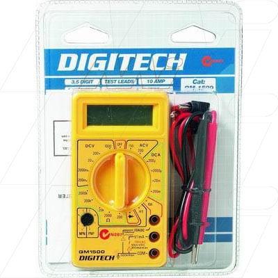 Digitech Budget Multimeter, QM1500